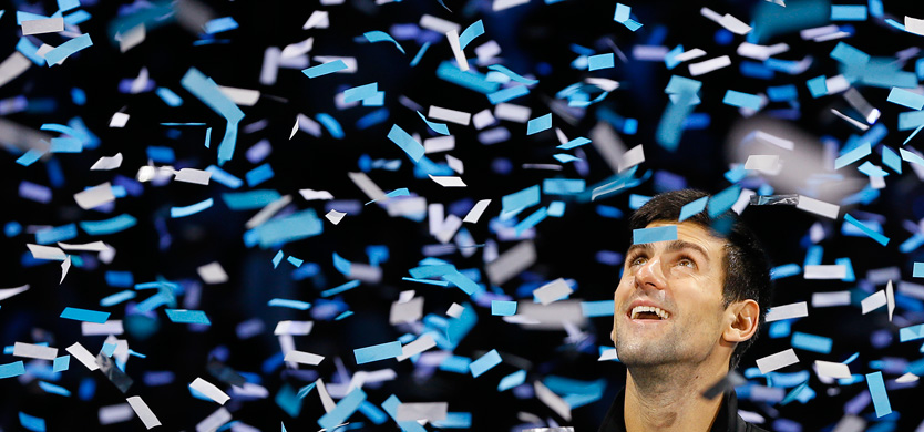 Images And Pictures Novak Djokovic of Serbia looks